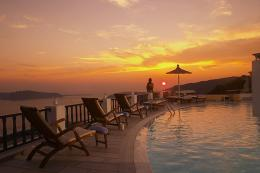 Santorini Princess Hotel | Imerovigli | Water Blue Travel Agency